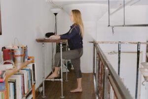 hypermobility standing desk